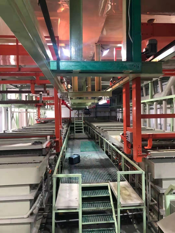 全自动铝氧化生产线